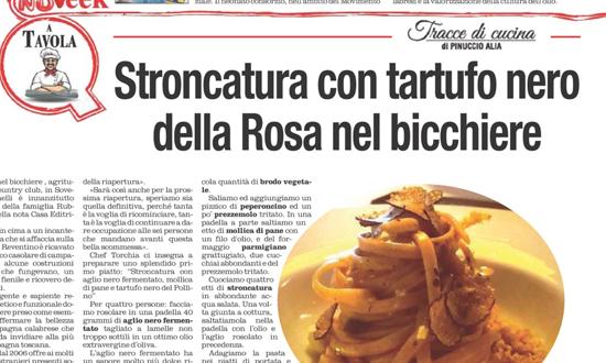 """Pinuccio Alia suggerisce """"La rosa nel bicchiere"""" nella sua rubrica"""